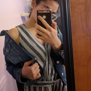 h&m denim jacket size 6 jean jacket